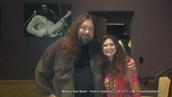 Adrienna and Dave Schools at Mickey Hart Band Show