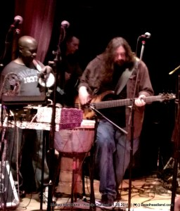 Sikiru Adepoju and Dave Schools, Mickey Hart Band 11.28.2011