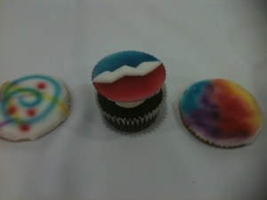 Grateful Cupcakes at the Grateful Dead Archive preview event