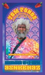 Tom Ponds Memorial (poster) - Ashkenaz Berkeley 12.19.11