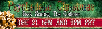 Scaring The Children Psychedelic Christmas