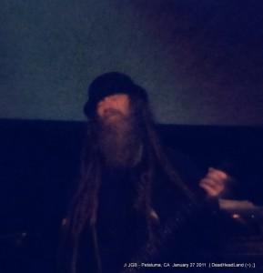 Jimmy Tebeau - JGB Band - McNear's Mystic Theatre Petaluma CA Jan. 27, 2012