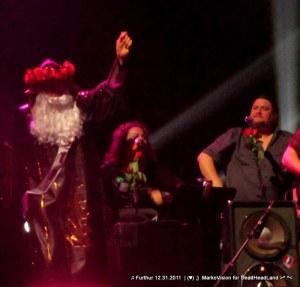 Father Time (Bill Walton), Sunshine Becker, Jeff Pehrson - Furthur NYE 2011 > 2012   (♥);} MarkoVision for DeadHeadLand
