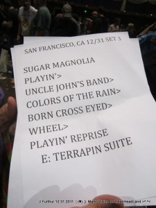 3rd set - Furthur NYE 2011 > 2012 | (♥);} MarkoVision for DeadHeadLand