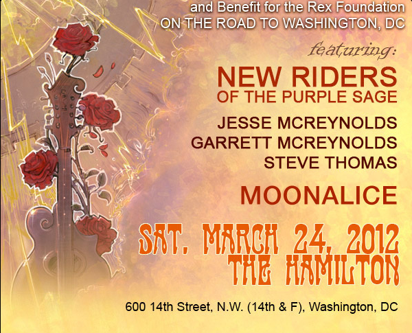 The Whwel - featuring New Riders of the Prurple Sage, Jesse McReynolds, Moonalice