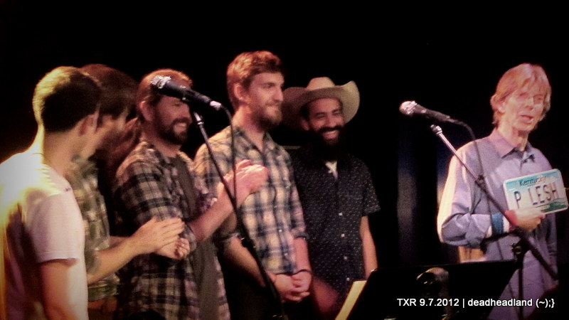 Terrapin All Stars – Grate Room, Terrapin Crossroads – Friday September 7, 2012