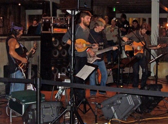 Free Bar show at Terrapin Crossroads, Bar with Grahame & Brian & Phil Lesh, & Barry Sless © Jonathan Scott Shensa Photography