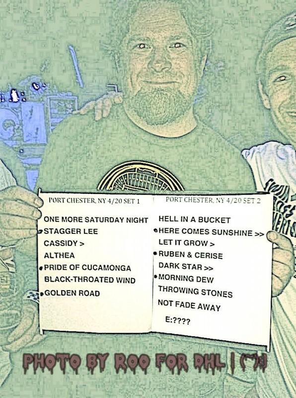 setlist 20130420