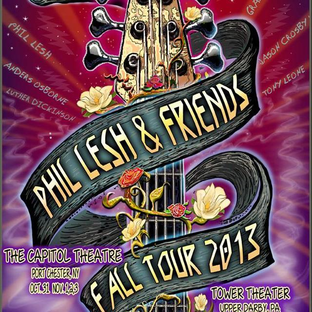 Fall Tour 2013: Phil Lesh & Friends with American Jubilee hit the East Coast