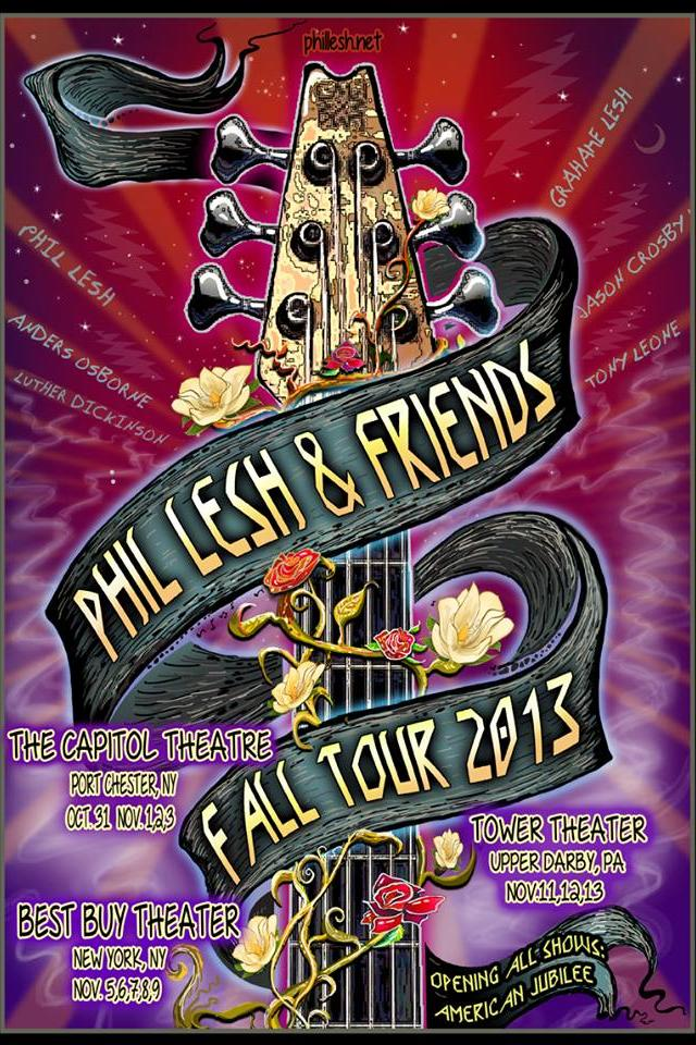 Phil Lesh and Friends Fall Tour 2013
