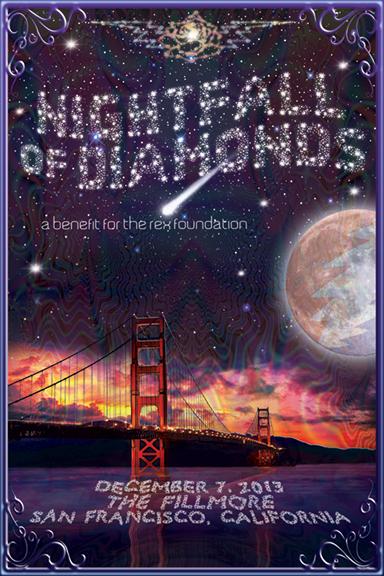 Rex Foundation Benefit at The Fillmore – Nightfall of Diamonds – Keller Williams, Nicki Bluhm and Tim Bluhm, Keith Mosley, Michael Kang and Jeff Austin