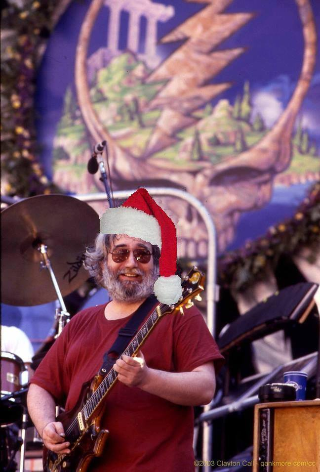 "JERRY XMAS: Jerry Garcia Acoustic Band, ""Christmas Time's A Coming"" - 1987"
