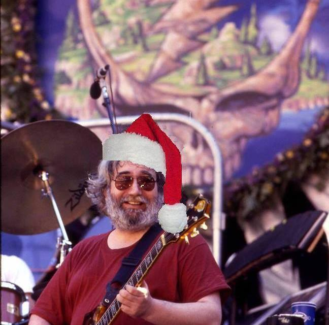 """JERRY XMAS: Jerry Garcia Acoustic Band, """"Christmas Time's A Coming"""" – 1987"""