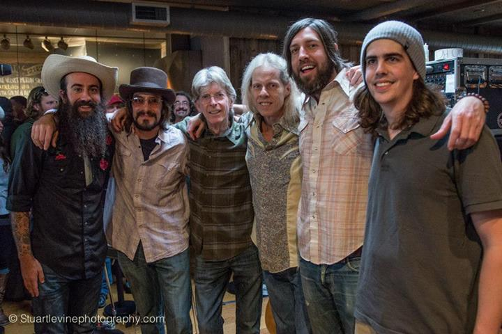 Stuart Levine Photography Sunday 3/2/14 Brunch bar show at Terrapin. Post show shot. — with Ross James, Mike Pascale, Brian Markovitz, Phillip Chapman Lesh, Danny Click, Ryan McCaffrey and Alex Koford at Terrapin Crossroads.