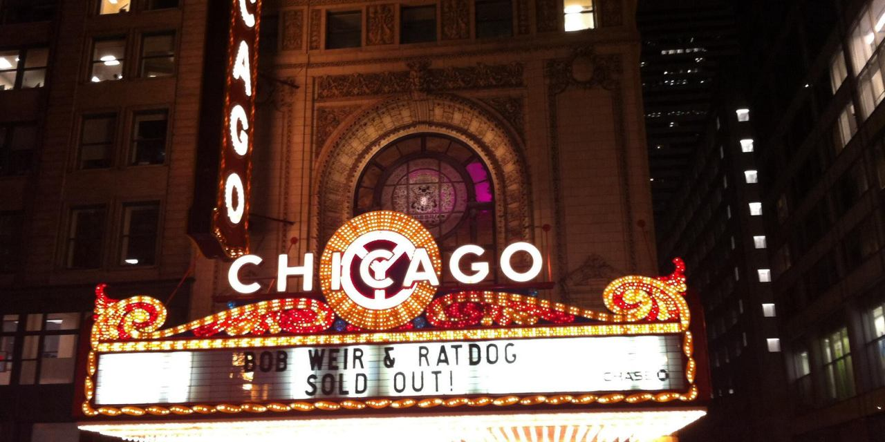 SETLIST: Ratdog – Scaring The Children | Chicago Theatre, Chicago , IL | Friday March 7,2014