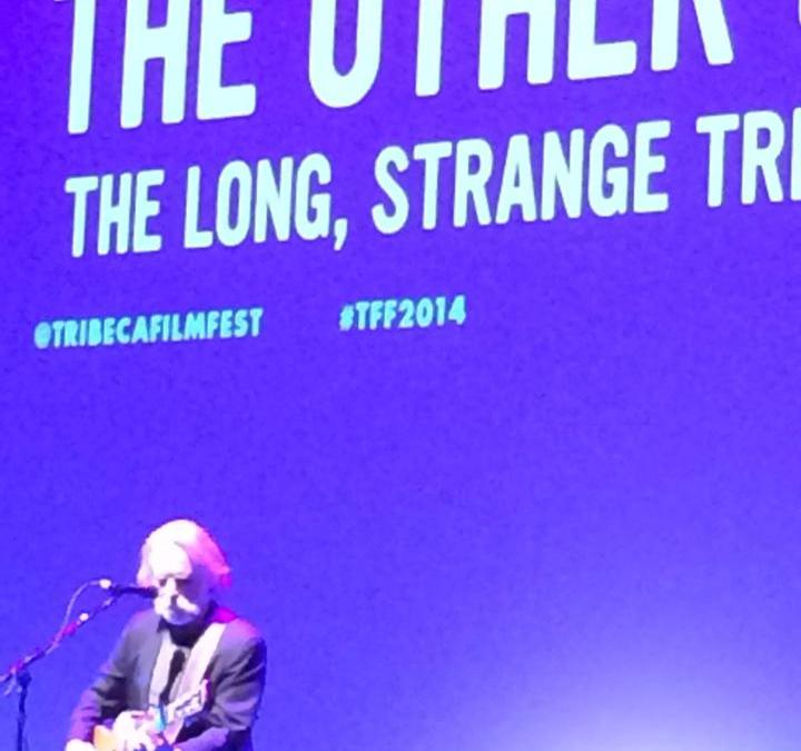 Weir Everywhere Department: Bob Weir performs at Tribeca Film Festival