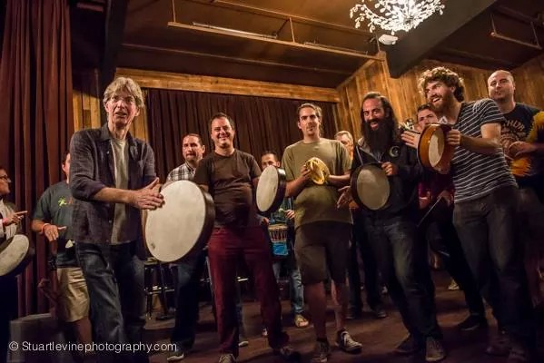 Drum Circle with Phil at Terrapin Crossroads