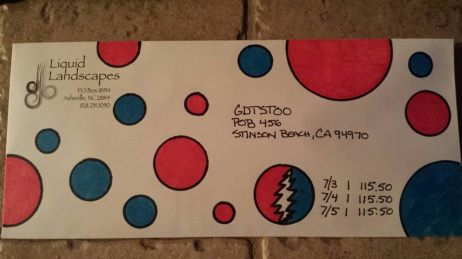 Deadhead ENvelope Art for Dead 50 orders (36)
