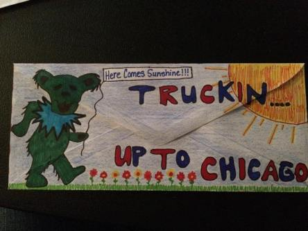Deadhead ENvelope Art for Dead 50 orders (60)