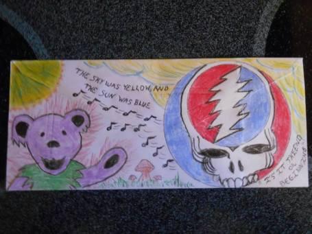 Deadhead Envelope art for Dead50 Mail Order (18)