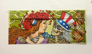 Deadhead Envelope art for Dead50 Mail Order (28)