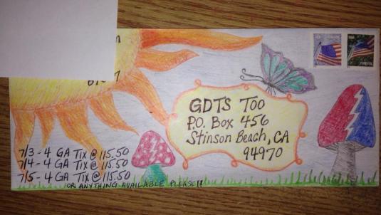 Deadhead Envelope art for Dead50 Mail Order (30)