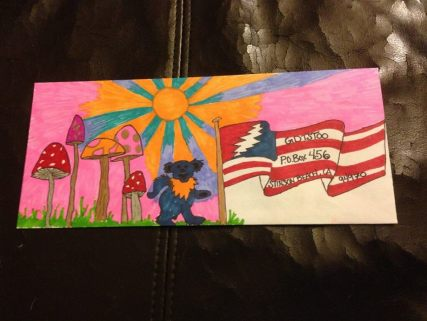 Deadhead Envelope art for Dead50 Mail Order (36)