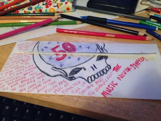 Deadhead Envelope art for Dead50 Mail Order (7)