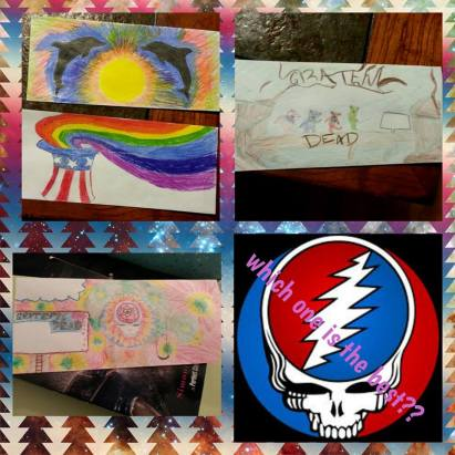 Deadhead Envelope art for Dead50 Mail Order (8)