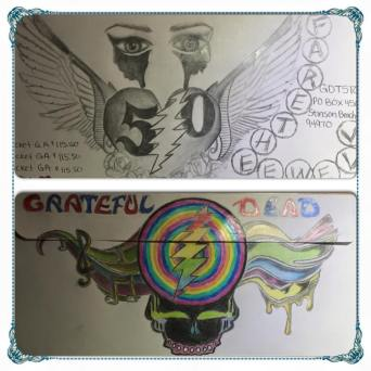 and more envelopes by deadheads! (10)