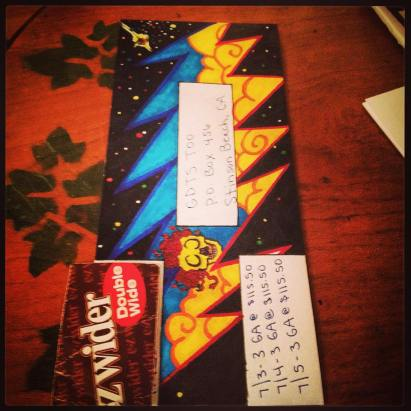 and more envelopes by deadheads! (18)