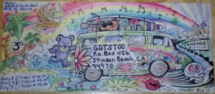 and more envelopes by deadheads! (7)