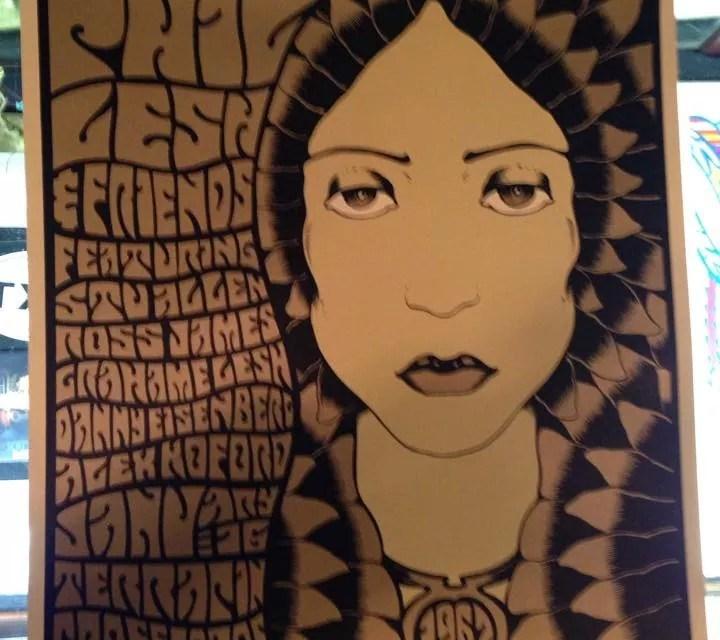 "SETLIST:  Phil Lesh & Friends ""Grateful Dead 1967"" Friday January 16, 2015,  Grate Room Terrapin Crossroads San Rafael, CA"