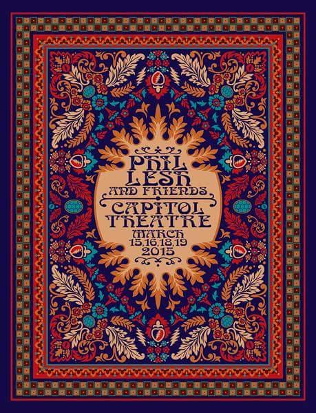 SETLIST: Phil Lesh & Friends, Capitol Theatre, Port Chester NY  Monday March 16, 2015