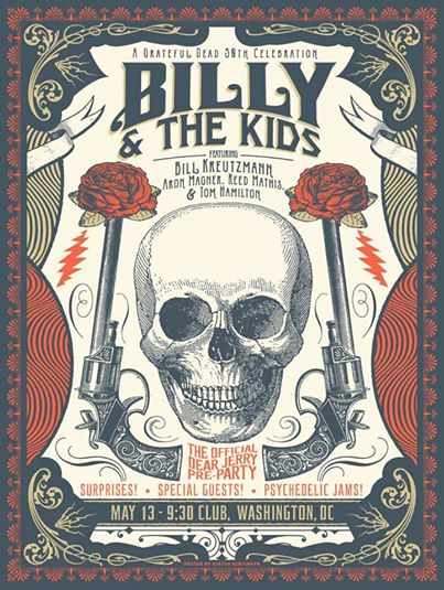 According to Jerry Garcia: The Official #DearJerryConcert Pre-Party with Billy Kreutzmann and the Kids
