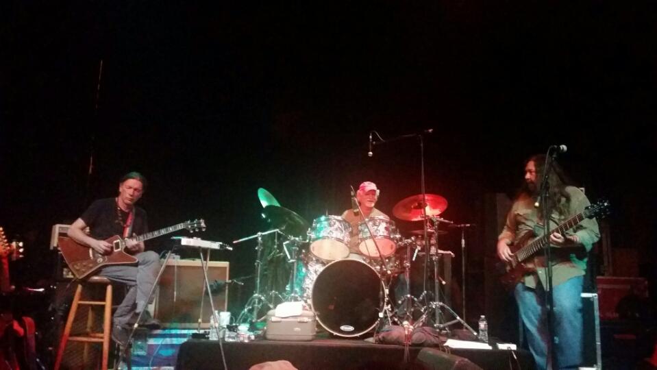 SETLIST: Bill Kreutzmann &  Voodoo Dead Wednesday April 08, 2015 Mystic Theatre Petaluma, CA