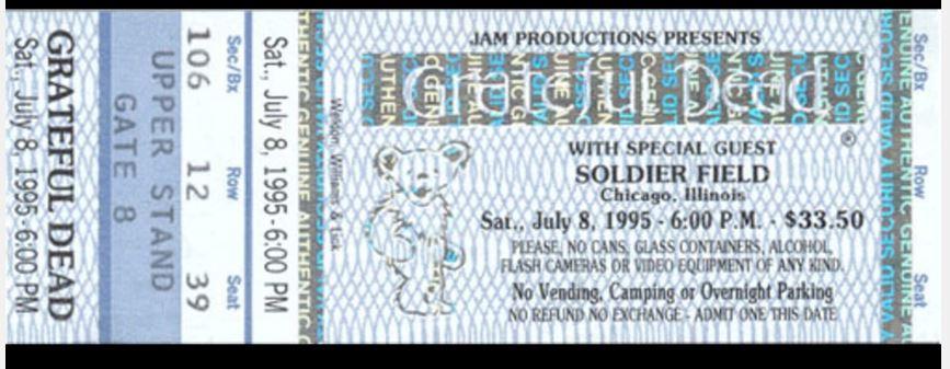 soldier field ticket 95