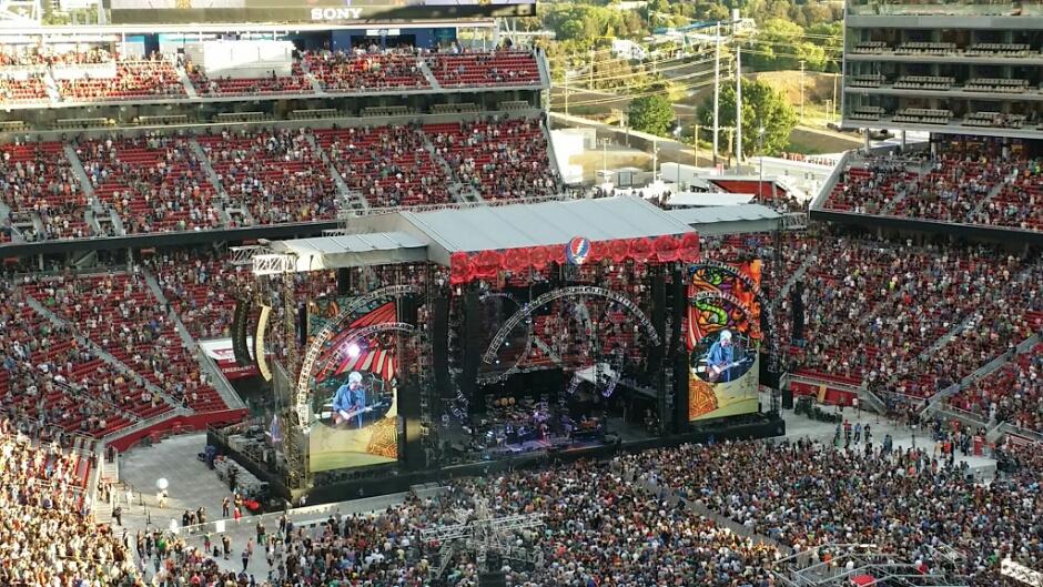 "VIDEO Grateful Dead – ""Truckin'"" 6/27/15 Levi's Stadium, Santa Clara, CA"""