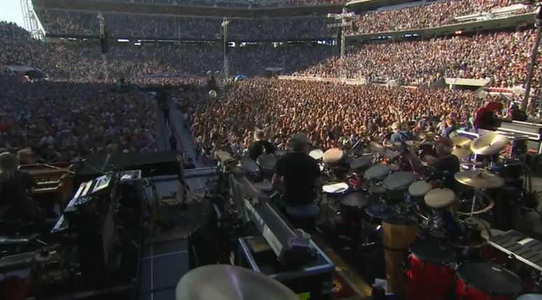 "VIDEO: Grateful Dead "" Feels Like A Stranger""  #GD50 Santa Clara, #levisstadium"