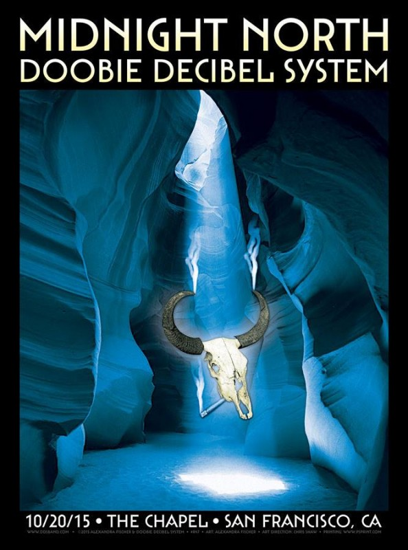 midnight north doobie decibel system the chapel sf