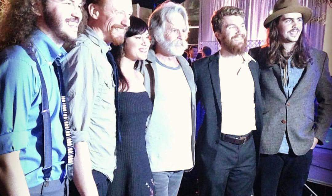 WEIR EVERYWHERE DEPT: Bob Weir backed by Grahame Lesh and his band Midnight North @#rainforestactionnetwork Benefit, Oct. 14 2015 (SETLIST)