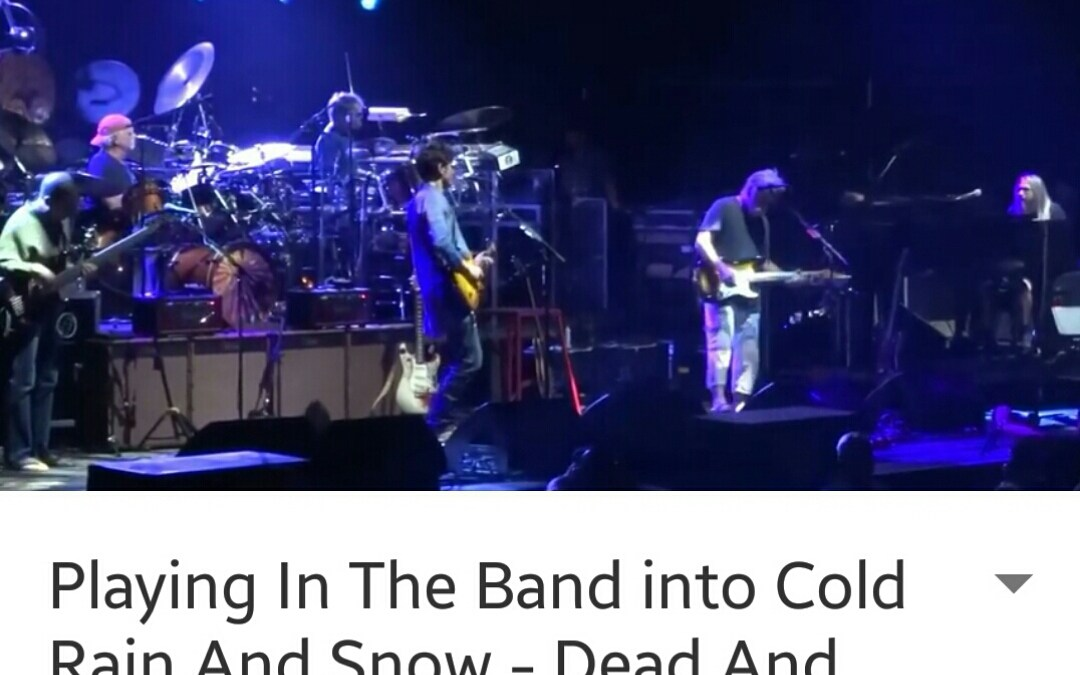 "VIDEO ""Playing In The Band > Cold Rain And Snow"" Dead And Company, Albany NY 10/29/2015"