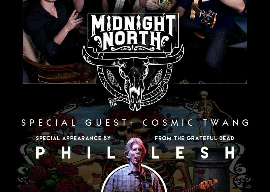 Grateful Dead's Phil Lesh to join Midnight North at SOBs in NYC on November 4th
