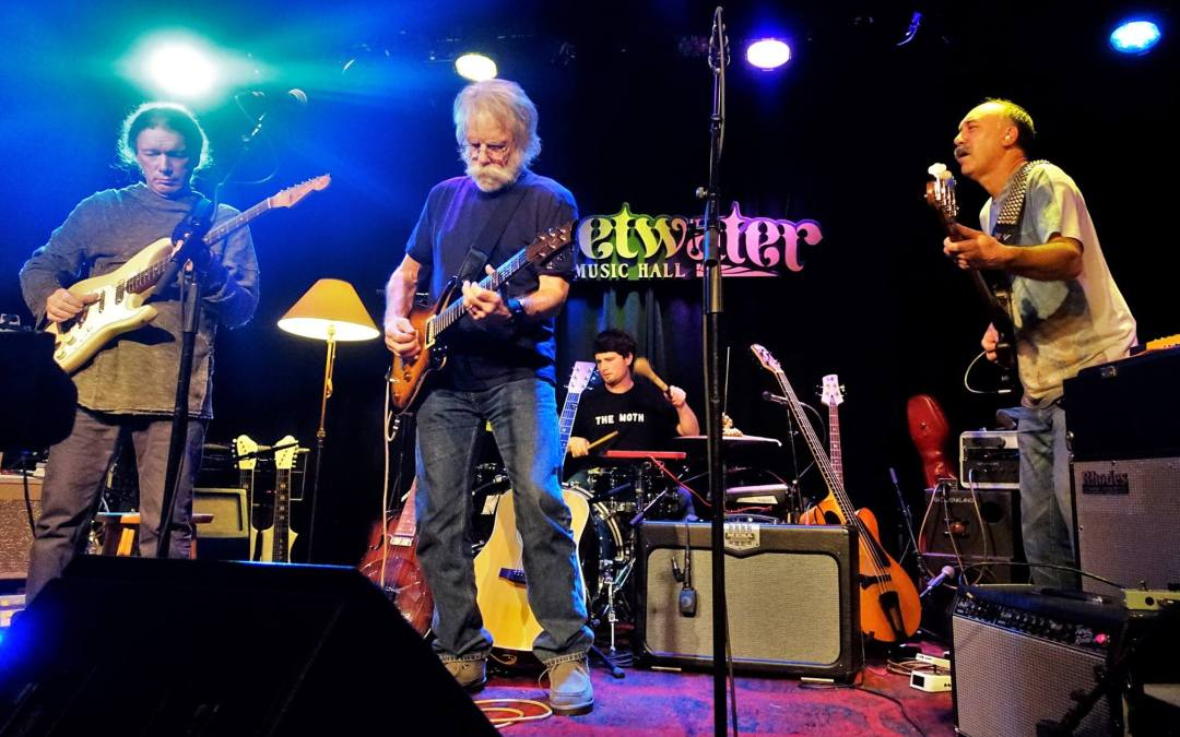 PHOTO GALLERY &SETLIST: KIMOCK Live Session w special guest Bob Weir; and a David Bowie tribute, at Sweetwater Mill Valley Sunday 1.17.2016