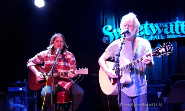 Lukas Nelson, Bob Weir, Grahame Lesh, Jason Crosby, Greg Loiacono, Grateful Bluegrass Boys for Music Heals International at Sweetwater