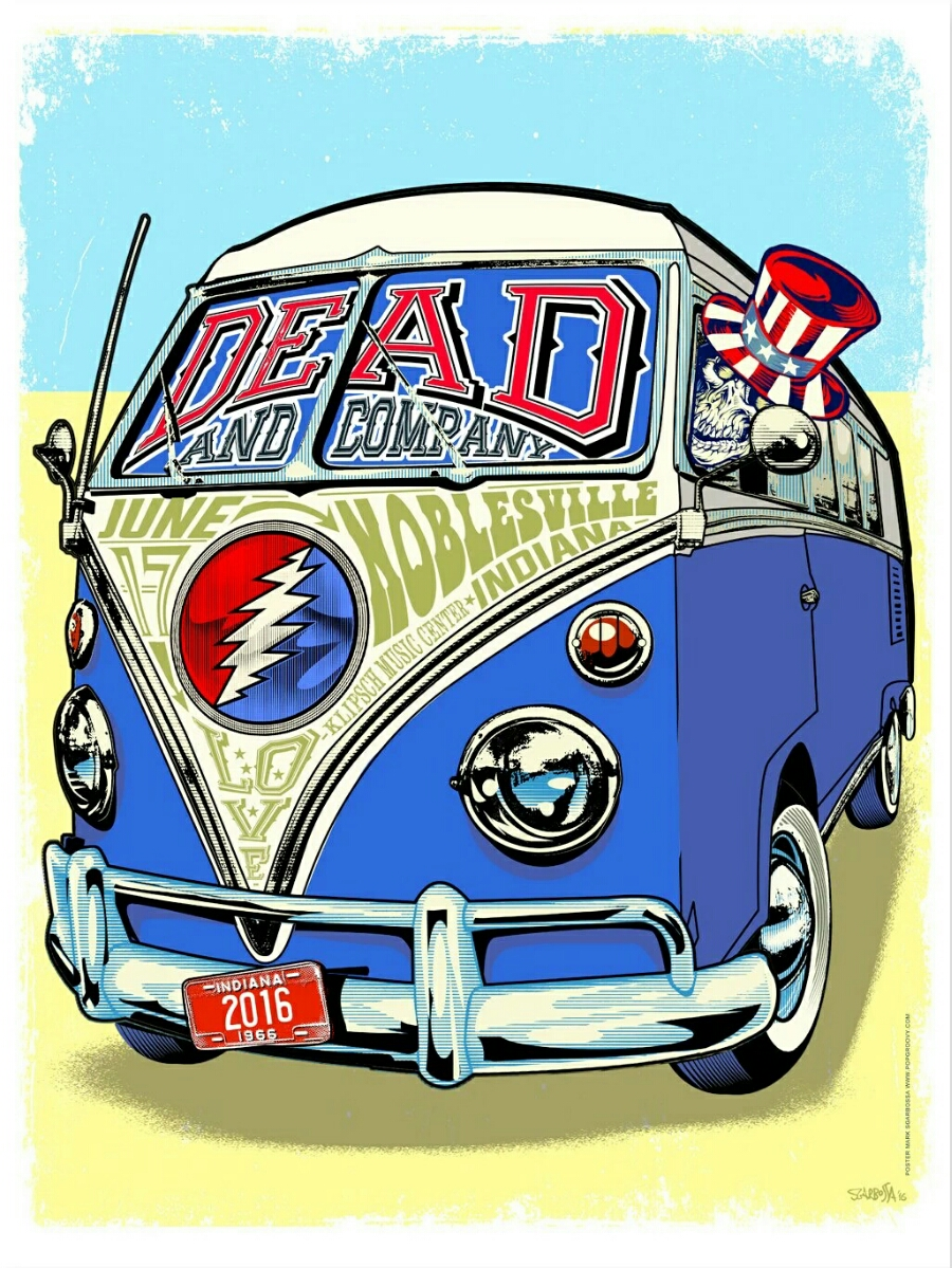 SETLIST: Dead and Company ~ Summer Tour 2016 | Friday June 17, 2016 Kilpsch Music Center (Deer Creek) Noblesville, Indiana