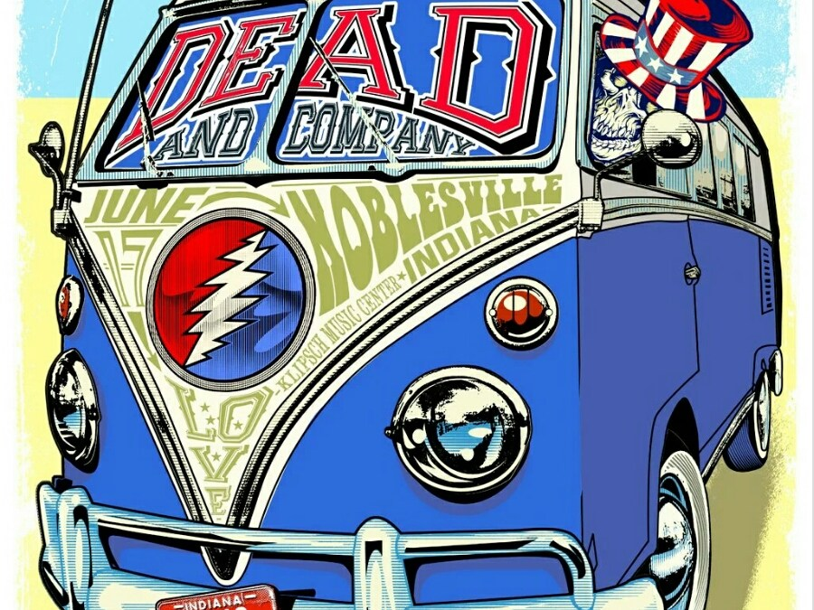 SETLIST: Dead and Company ~ Summer Tour 2016 | Friday June 17, 2016 Kilpsch Music Center (Deer Creek) Noblesville, Indiana