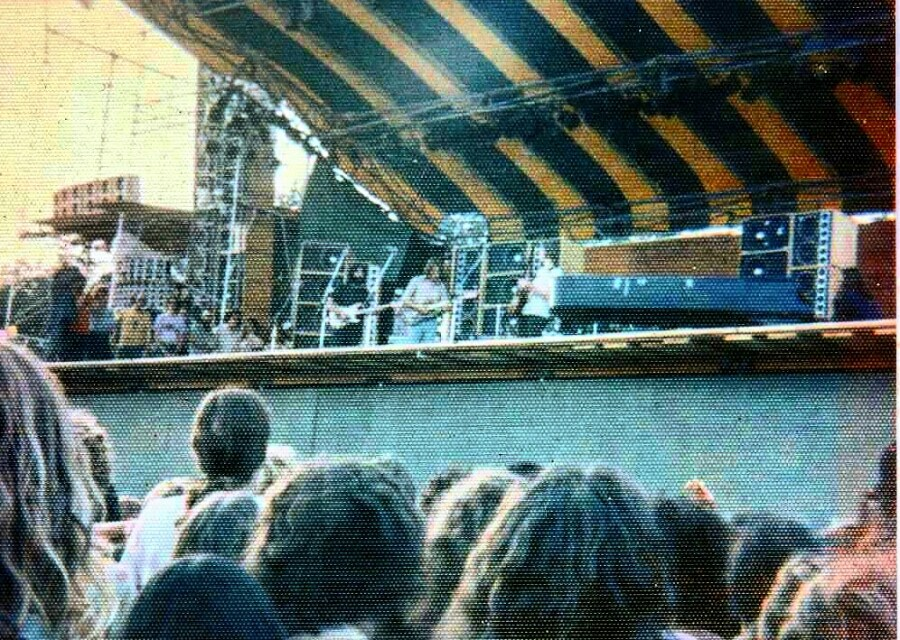 Rare Fan Snap!Grateful Dead7.27.1973 Watkins Glensoundcheck photo ????