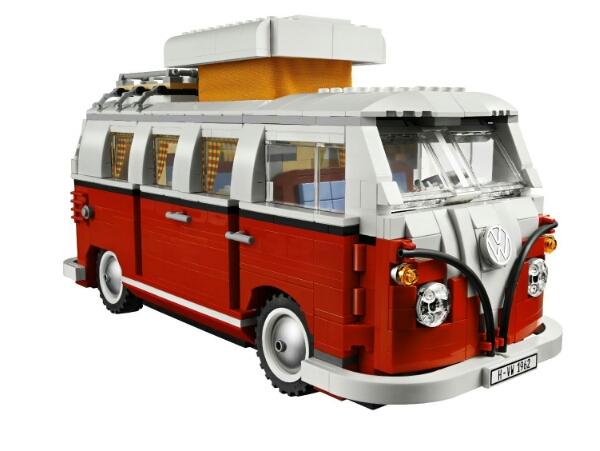 KEEP ON TRUCKIN DEPT: LEGO Volkswagen Van Time Lapse