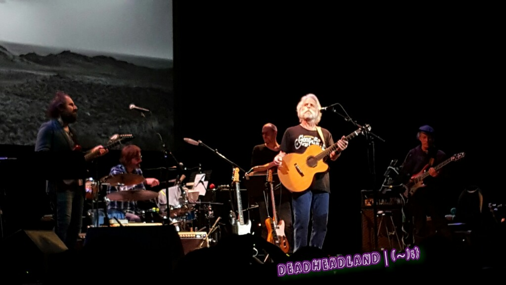 VIDEO: He's Gone > Gonesville ~ Bob Weir #campfiretour(6) Marin Center 2016-10-07 – Fall Tour 2016